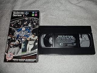 2000 Official World Series Video - New York Yankees vs. New York Mets VHS