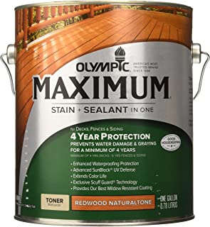 OLYMPIC/PPG ARCHITECTURAL FIN 56404A/01 Red Wood Water Sealer
