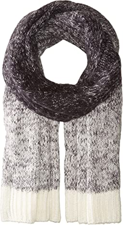 Scotch & Soda - Soft Chunky Scarf with Gradient Mélange Knit Outlook