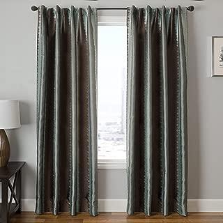 Softline Home Fashions DREIBLCHO84BTP Dream Single Curtain Panel Ice Blue