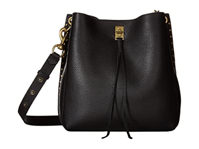 Rebecca Minkoff Darren Shoulder Bag (Black) Handbags
