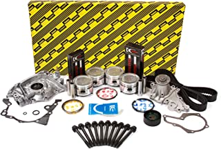Evergreen OK8000M/0/0/0 86-95 Suzuki Samurai Sidekick 1.3L SOHC 8V G13A Master Overhaul Engine Rebuild Kit