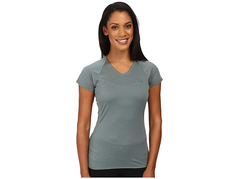The North Face Better Than Naked Short Sleeve Top (Balsam Green/Moonlight Ivory (Prior Season)) Women