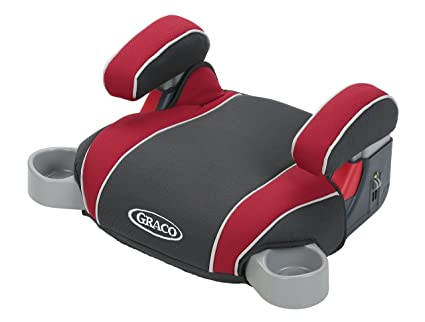 Graco Backless Turbo Booster Car Seat, Chili Red, One Size: image