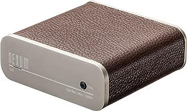 NEXUM TuneBox2 TB20 WiFi Hi-Fi Music Receiver Wireless Audio System Adapter (Brown)