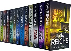 Temperance Brennan Series 1 & 2 Collection 12 Books Set By Kathy Reichs (Deja Dead, Death Du Jour, Deadly Decisions, Fatal...
