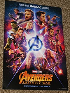 Avengers Infinity War IMAX Poster 13x19 inch Promo Movie Poster