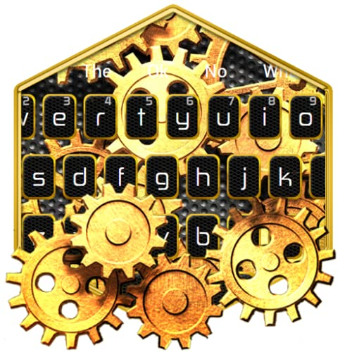 Gold Mechanical Keyboard Theme