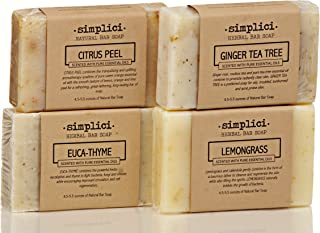 SIMPLICI Fresh Energy bar soap 4-pack