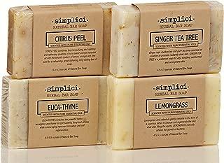 SIMPLICI Fresh Energy bar soap 4-pack