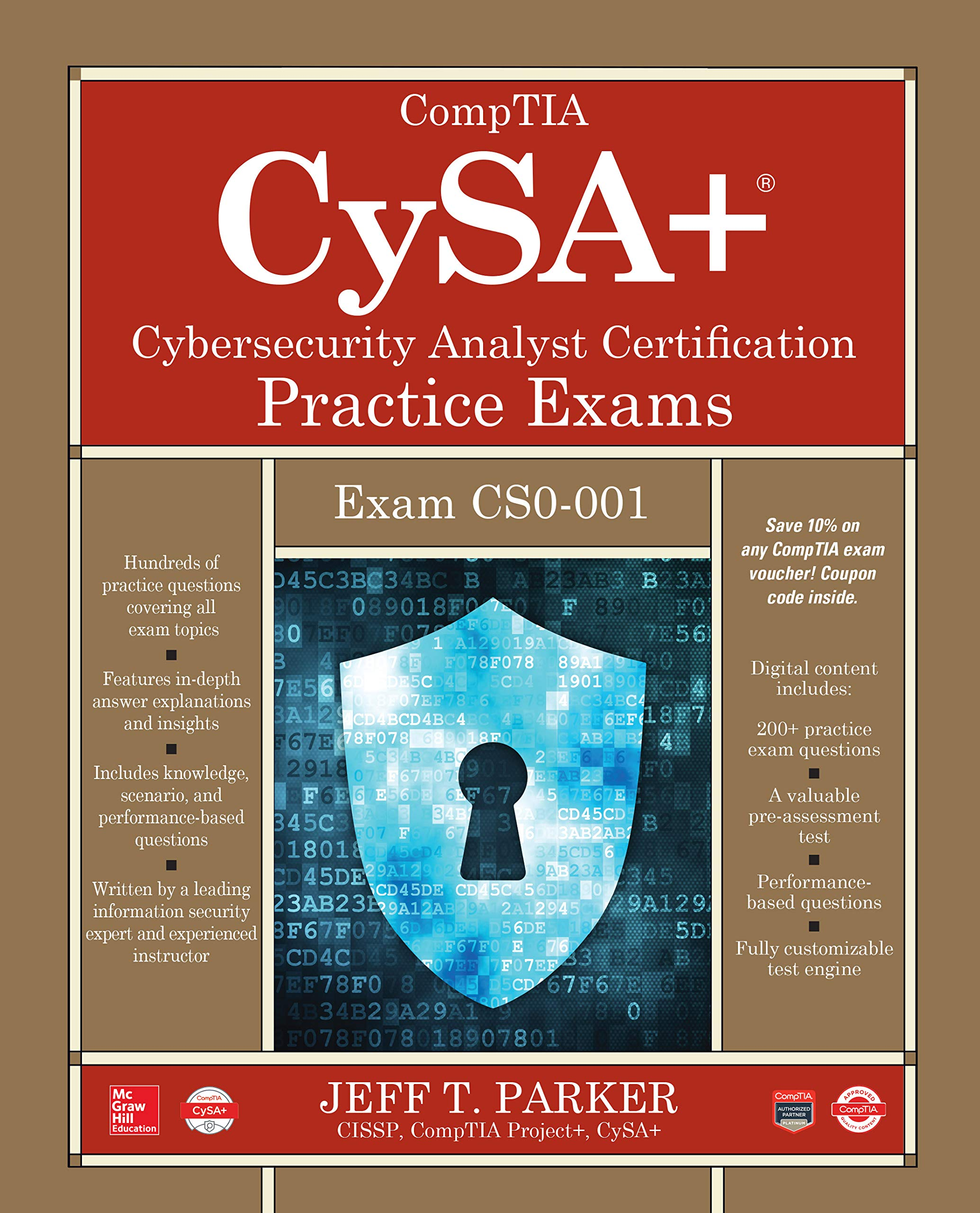CompTIA CySA+ Cybersecurity Analyst Certification Practice Exams (Exam CS0-001) (English Edition)