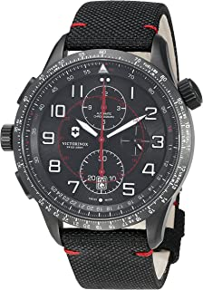 ساعت مچی 9 Chronograph Airboss مکانیک مردانه ارتش Victorinox Swiss Swiss Watch