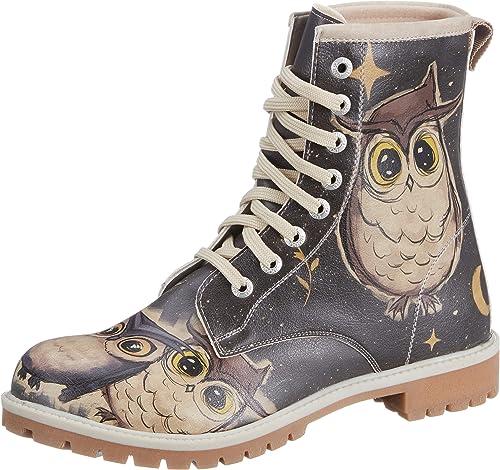 DOGOmujer botas Owls Family - botas clásicas mujer
