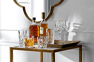 Marquis By Waterford 165119 Markham Hiball Collins Glasses, Set of 4, Clear Crystalline, 2.9 x 2.9 x 5.9 13 Ounces