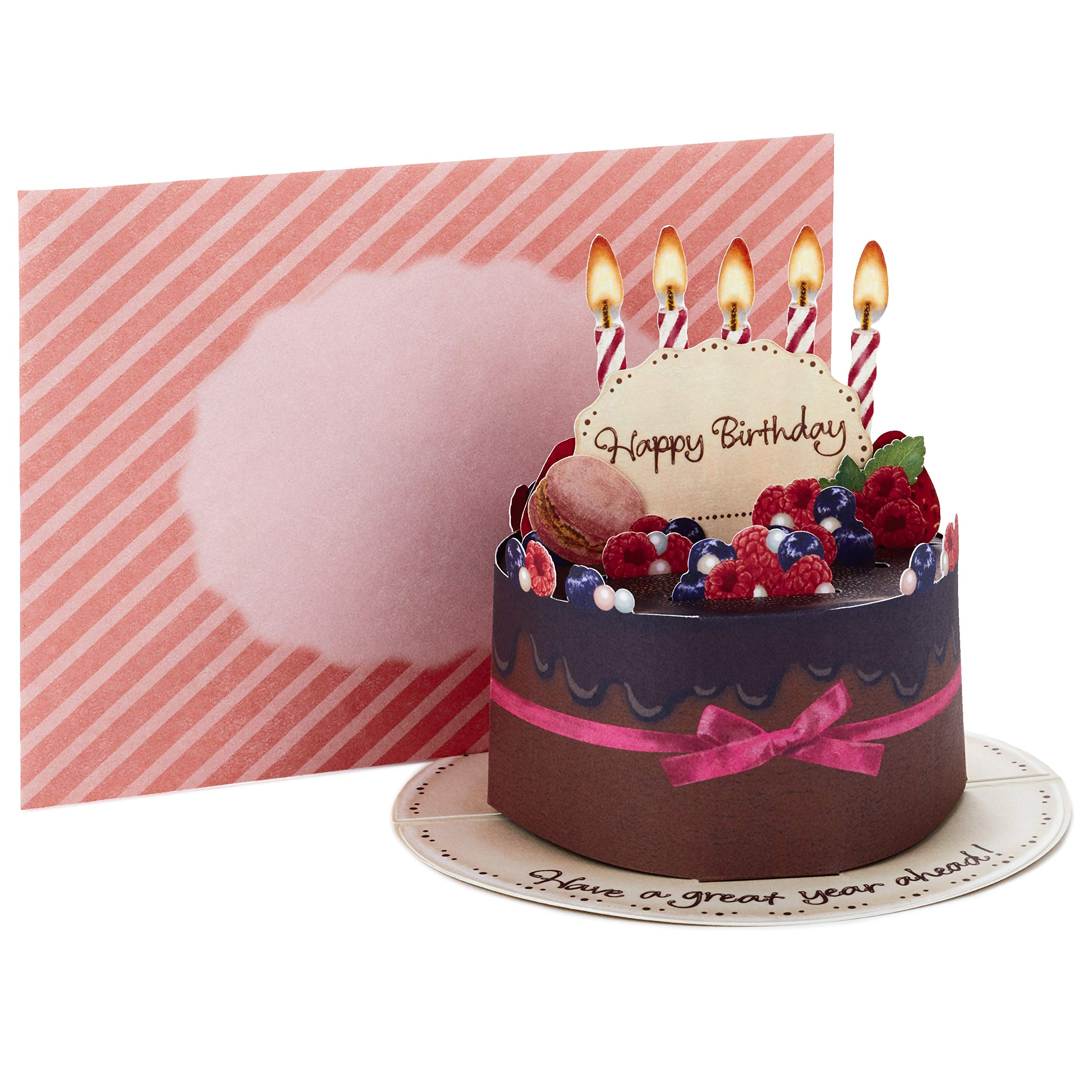 Swell Hallmark Pop Up Birthday Card Chocolate Cake Buy Online In Funny Birthday Cards Online Aboleapandamsfinfo