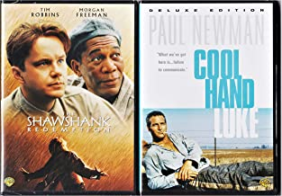 """""""Get busy living, or get busy dying"""" Andy and Luke Iconic Prison Characters DVD Double Feature: Cool Hand Luke & The Shawshank Redemption"""
