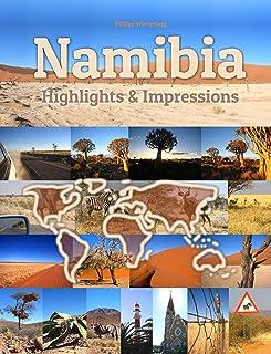Namibia Highlights & Impressions: Original Wimmelfotoheft (4K Ultra HD) (English Edition)