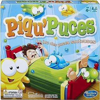 Hasbro Piqu'Puces - Jeu de societe pour enfants - Jeu d'adresse et de rapidité - Version française