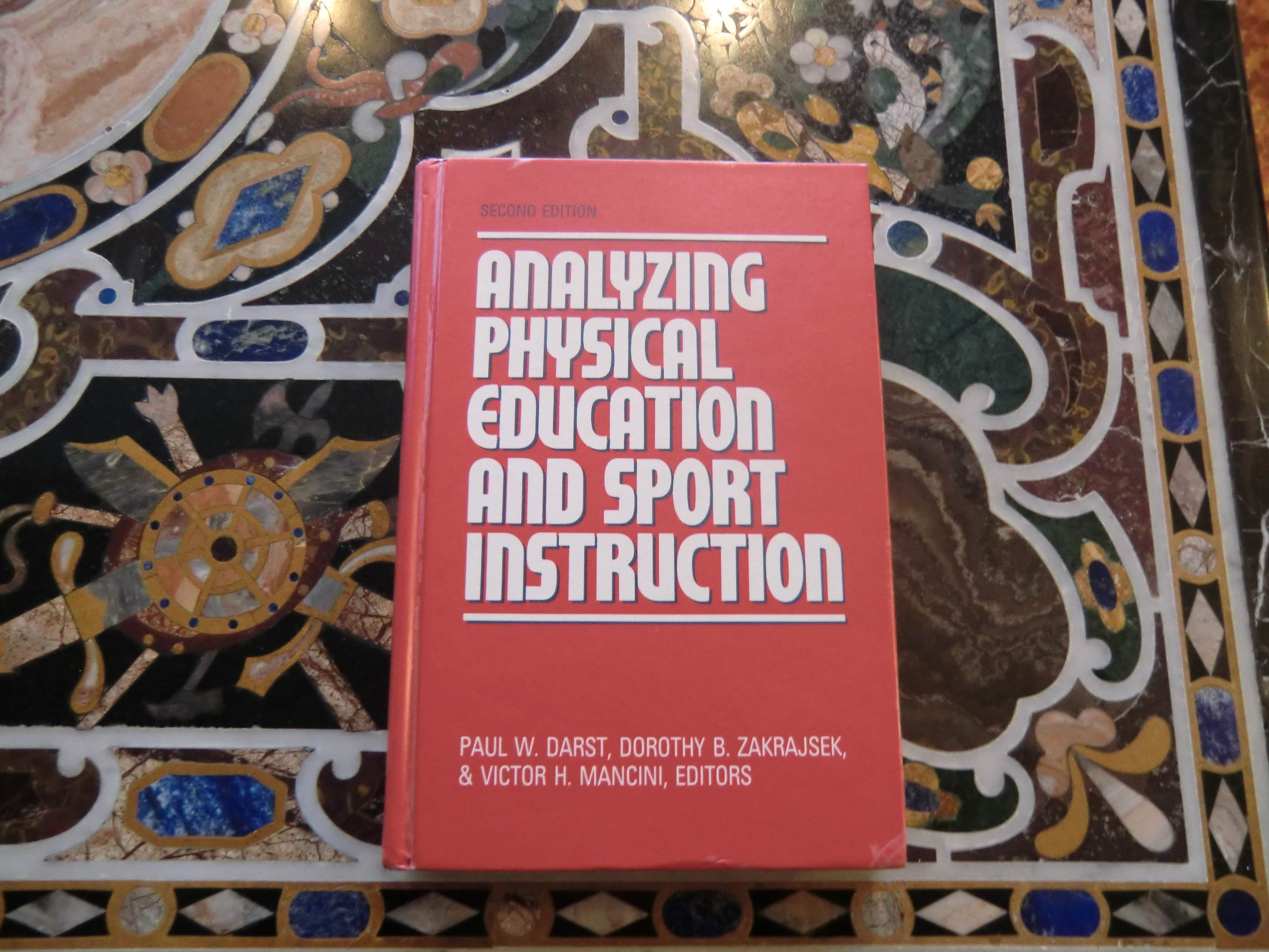 DOWNLOAD [PDF] Analyzing Physical Education and Sport Instruction ...