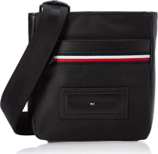 Tommy Hilfiger Modern Nylon Mini Crossover Bag, Black, AM0AM05569
