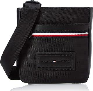 حقيبة مارة بالجسم مُصغرة مصنوعة من النايلون من تومي هيلفيجر، لون اسود، AM0AM05569