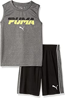 PUMA Little Boys' Tank & Short Set