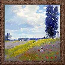 overstockArt Walk in The Meadows at Argenteuil by Monet with Italian Renaissance Frame