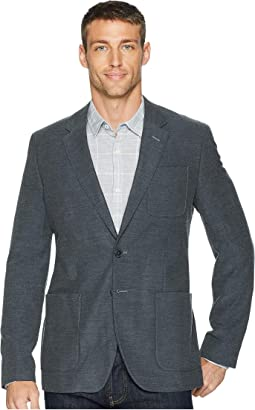 Wool Twill Patch Pocket Blazer