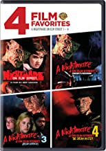 4 Film Favorites: Nightmare on Elm Street 1-4