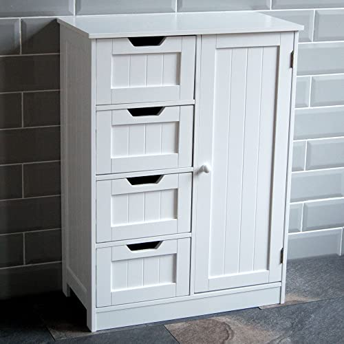 . Floor Standing Bathroom Cabinet  Amazon co uk