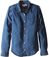 DL1961 Kids - Olivia Soft Tencel® Chambray Shirt (Little Kids/Big Kids)