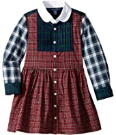 Polo Ralph Lauren Kids - Tartan Cotton Shirtdress (Toddler)