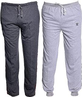 VIMAL JONNEY Multicolor Cotton Trackpants for Men (Pack of 2)-D1A_D8M_02-P