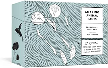 Amazing Animal Facts Postcards: 50 Colorable Postcards