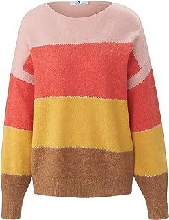 PETER HAHN - Pullover da donna con blocco di colore