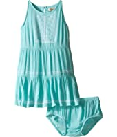 Lucky Brand Kids - Abilyn Dress with Lace (Toddler)