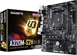GIGABYTE GA-A320M-S2H (AMD Ryzen AM4/MicroATX/2xDDR4/HDMI/Realtek ALC887/3xPCIe/USB3.1 Gen 1/LAN/Motherboard)