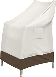 Amazon Basics - Copertura protettiva per sedia a schienale alto da giardino