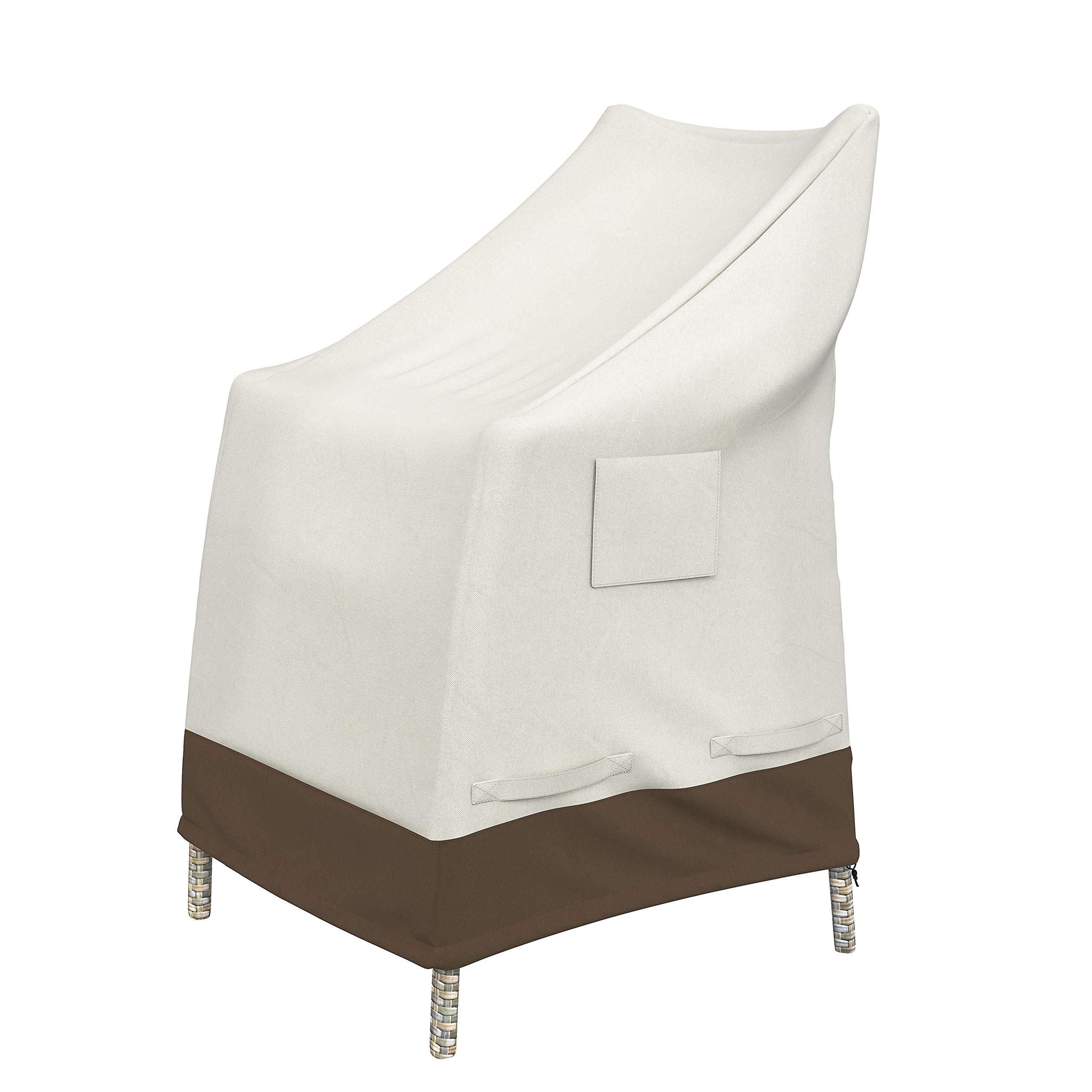 Amazon Basics High-Back Chair Outdoor Patio Furniture Cover
