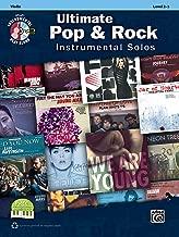 Ultimate Pop & Rock Instrumental Solos for Strings: Violin, Book & CD (Ultimate Pop Instrumental Solos Series)