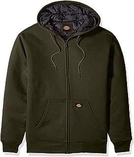 Men's Heavyweight Quilted Fleece, Tactical Green, XL