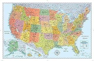 Rand McNally Signature United States Wall Map - Laminated