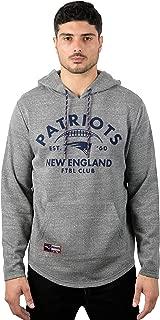 Men's Fleece Hoodie Pullover Sweatshirt Embroidered, Team Color
