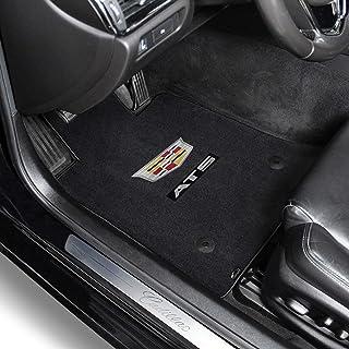 Nylon Carpet Coverking Custom Fit Front Floor Mats for Select Cadillac Allante Models Black