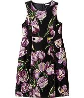 Dolce & Gabbana Kids - City Tulip Print Dress (Big Kids)