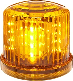 Fortune Products PL-300AJ Battery Powered Ultra Bright Amber LED Safety & Emergency Beacon Light w/Magnetic Bottom