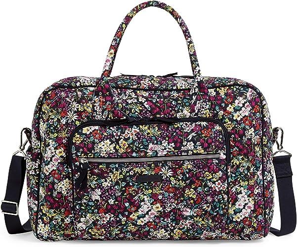 Vera Bradley Signature Cotton Weekender Travel Bag