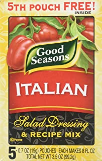 Good Seasons Italian Salad Dressing & Recipe Mix (2 Boxes Containing (5) - 0.7 oz. Pouches Each)