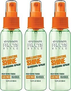 Garnier Hair Care Fructis Style Brilliantine Shine Glossing Spray, 3 Count