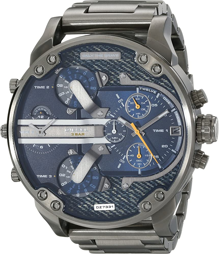 Diesel orologio cronografo uomo  in acciaio inossidabile DZ7331
